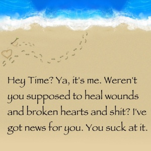 Time heals wounds?