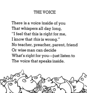 """The Voice"" by Shel Silverstein"