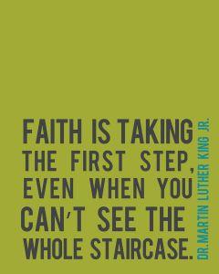 Faith MLK Jr