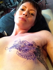 Tattoo Selfie during a break